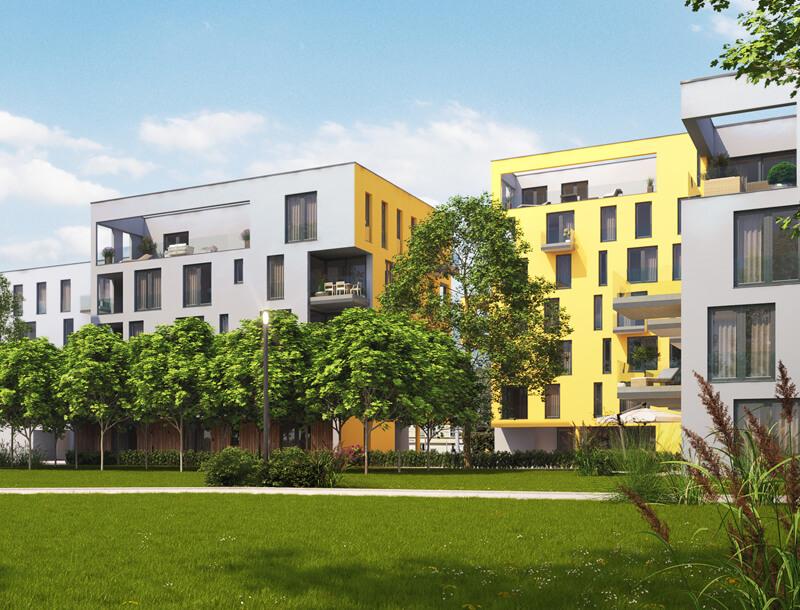 Neubau Wohnanlage Riedenburg